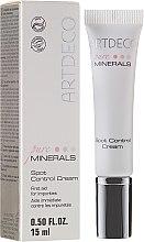 Духи, Парфюмерия, косметика Крем для лица против покраснений и прыщиков - Artdeco Pure Minerals Spot Control Cream