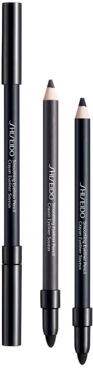 Карандаш контурный для век - Shiseido Smoothing Eyeliner Pencil — фото N1