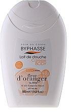 Духи, Парфюмерия, косметика Крем для душа - Byphasse Caresse Shower Cream Orange Blossom