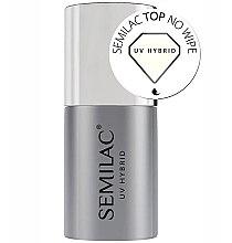 Духи, Парфюмерия, косметика Топ без липкого слоя - Semilac UV Hybrid No Wipe