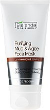Духи, Парфюмерия, косметика Очищающая маска для лица с глиной и водорослями - Bielenda Professional Purifying Mud and Algae Face Mask