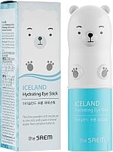 Духи, Парфюмерия, косметика Увлажняющий стик с ледниковой водой для кожи вокруг глаз - The Saem Iceland Hydrating Eye Stick