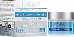 Духи, Парфюмерия, косметика Крем против морщин с гиалуроновой кислотой и пептидами 45+ - Ava Laboratorium L'Arisse 5D Anti-Wrinkle Cream Phytohyaluron + Peptides