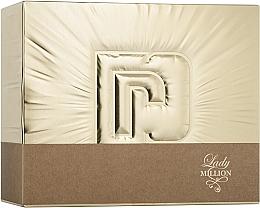 Духи, Парфюмерия, косметика Paco Rabanne Lady Million - Набор (edp/50ml + edp/10ml + b/lot/75ml)