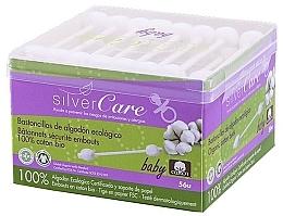 Духи, Парфюмерия, косметика Ватные палочки для детей, 56шт - Silver Care Coton