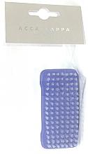 Духи, Парфюмерия, косметика Щетка для ногтей, синяя - Acca Kappa 2-Sided Nail Brush Nylon Bristles