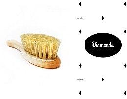 Духи, Парфюмерия, косметика Набор - LullaLove Romby (hair brush + muslin)