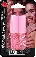Духи, Парфюмерия, косметика Глиттер для лица и тела - Artlook Body & Make Up Glitter