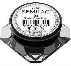 """Духи, Парфюмерия, косметика Гель для дизайна ногтей """"Паутинка"""" - Semilac Spider Gum UV Gel"""