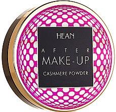 Духи, Парфюмерия, косметика Компактная пудра для лица - Hean After Makeup-up Cashmere Compact Powder