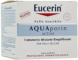Духи, Парфюмерия, косметика Крем для лица - Eucerin AquaPorin Active Deep Long-lasting Hydration For Dry Skin