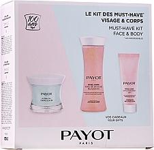 Духи, Парфюмерия, косметика Набор - Payot Hydra 24+ Must-Have Kit Face & Body (cr/50ml + sh/oil/125ml + b/lot/25ml)