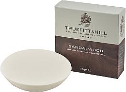 Духи, Парфюмерия, косметика Truefitt & Hill Sandalwood - Люкс-мыло для бритья (сменный блок)
