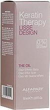 Духи, Парфюмерия, косметика Кератиновое масло для волос - Alfaparf Lisse Design Keratin Therapy Oil