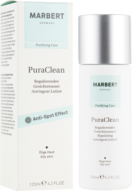 Очищающий лосьон для жирной кожи - Marbert Pura Clean Regulating Lotion — фото N1