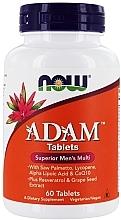 Духи, Парфюмерия, косметика Супер мультивитамины для мужчин, таблетки - Now Foods Adam Superior Men's Multi