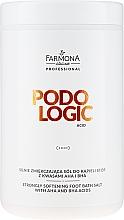 Духи, Парфюмерия, косметика Размягчающая соль для ног - Farmona Podologic Acid Strongly Softening Foot Bath Salt