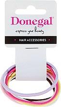 Духи, Парфюмерия, косметика Резинки для волос 6 шт, FA-9934, цветные - Donegal
