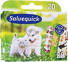 Духи, Парфюмерия, косметика Детские пластыри - Salvequick Animal Planet