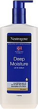 Духи, Парфюмерия, косметика Эмульсия для тела - Neutrogena Deep Moisture Creamy Oil