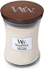 Духи, Парфюмерия, косметика Ароматическая свеча в стакане - WoodWick Hourglass Candle Vanilla Bean