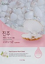 Духи, Парфюмерия, косметика Тканевая маска с экстрактом жемчуга - Esfolio Pearl Essence Mask Sheet