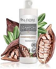 Духи, Парфюмерия, косметика Шампунь для волос с какао маслом и мочевиной - E-Fiori