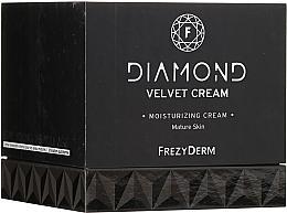 Духи, Парфюмерия, косметика Увлажняющий крем для лица - Frezyderm Diamond Velvet Moisturizing Cream For Ripe Skin