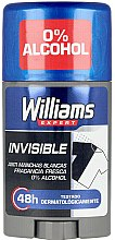 Духи, Парфюмерия, косметика Дезодорант-стик - Williams Expert Invisible Deodorant Stick