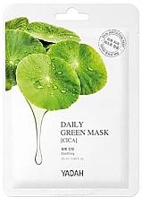 """Духи, Парфюмерия, косметика Маска для ежедневного применения """"Центелла азиатская"""" - Yadah Daily Green Mask Cica"""