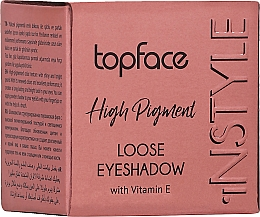 Духи, Парфюмерия, косметика Тени для век - TopFace Instyle High Pigment Loose Eyeshadow