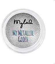 Духи, Парфюмерия, косметика Пудра для ногтей - MylaQ My Matellic Gloss