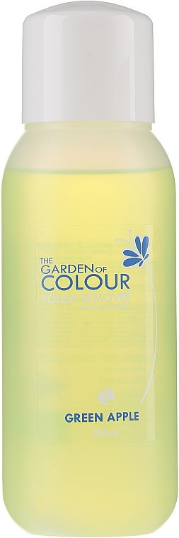 Жидкость для снятия лака - Silcare The Garden Of Colour Polish Remover Green Apple — фото N1