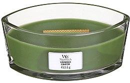 Духи, Парфюмерия, косметика Ароматическая свеча в стакане - Woodwick Hearthwick Flame Ellipse Candle Evergreen