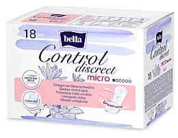 Духи, Парфюмерия, косметика Урологические прокладки для женщин, 18 шт. - Bella Control Discreet Micro Bladder Control Pads