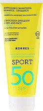 Духи, Парфюмерия, косметика Солнцезащитная эмульсия для лица и тела - Korres Citrus Sport Sunscreen Body & Face Emulsion SPF50