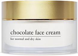 Духи, Парфюмерия, косметика Энергетический шоколадный крем для лица с экстрактом какао - Yellow Rose Chocolate Face Cream
