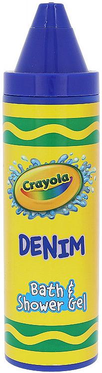 Гель для душа - Crayola Bath & Shower Gel Denim — фото N1