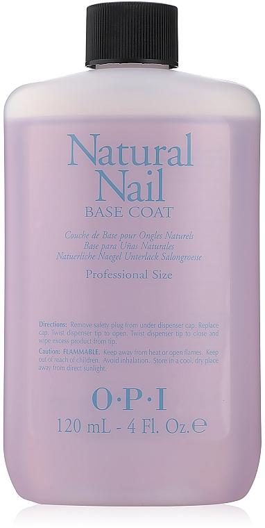 Базовое покрытие для натуральных ногтей - O.P.I Natural Nail Base Coat — фото N2