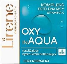 Духи, Парфюмерия, косметика Дневной увлажняющий крем для лица - Lirene Dermo Program Oxy In Aqua Vitamin C