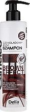 Духи, Парфюмерия, косметика Шампунь с эффектом углубления цвета для коричневых волос - Delia Cameleo Brown Effect Shampoo