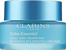 Духи, Парфюмерия, косметика Увлажняющий крем для сухой кожи - Clarins Hydra-Essentiel Rich Cream