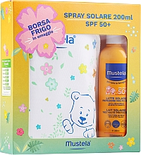 Духи, Парфюмерия, косметика Набор - Mustela Bebe Solare (sun/spray/200ml + bag)