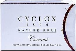 """Духи, Парфюмерия, косметика Ультраувлажняющее крем-мыло для тела """"Coconut"""" - Cyclax Nature Pure Coconut Ultra-Moisturising Cream Soap Bar"""