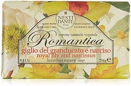 """Духи, Парфюмерия, косметика Мыло """"Лилия и нарцисс"""" - Nesti Dante Romantica Tuscan Lily&Narcissus Soap"""