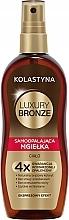 Духи, Парфюмерия, косметика Спрей-автозагар для тела - Kolastyna Luxury Bronze Tanning Spray