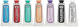 Духи, Парфюмерия, косметика Набор зубных паст - Marvis Toothpaste Flavor Collection Gift Set (t/paste/7x25ml)