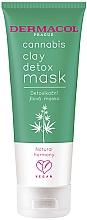 Духи, Парфюмерия, косметика Детоксифицирующая глиняная маска с конопляным маслом - Dermacol Cannabis Clay Detox Mask