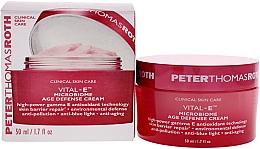 Духи, Парфюмерия, косметика Антивозрастной крем - Peter Thomas Roth Vital-E Microbiome Age Defense Cream