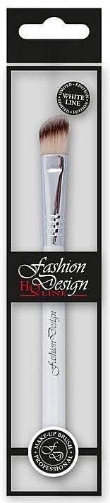 Кисть для теней, 37214 - Top Choice Fashion Design White Line — фото N1
